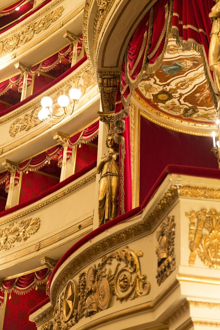Milan's Teatro alla Scala has been the reference in the opera world for over two centuries. Milan, Italy