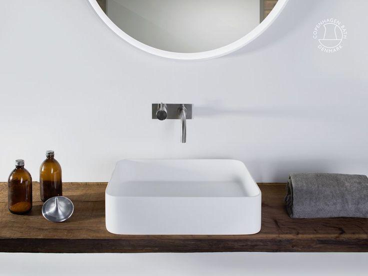 Håndvaske: Stockholm firkantet R50