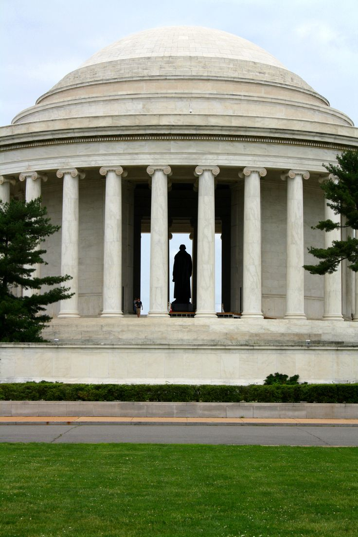Thomas Jefferson Memorial - one of the most beautiful places I visited in Washington DC - May 2012