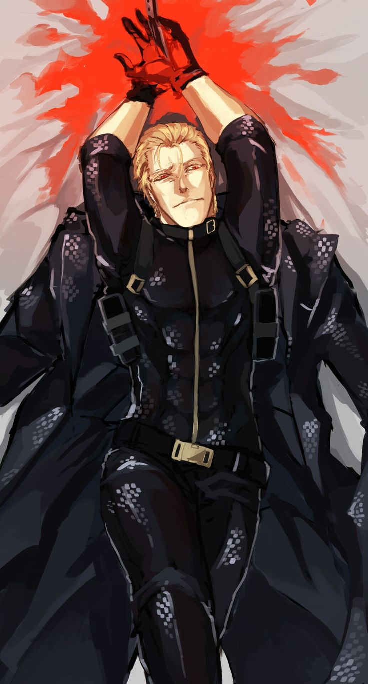 Albert Wesker Artist: Tofudueg on tumblr