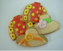 Kentucky Derby Party Ideas...have a sweater cookie cutter already...