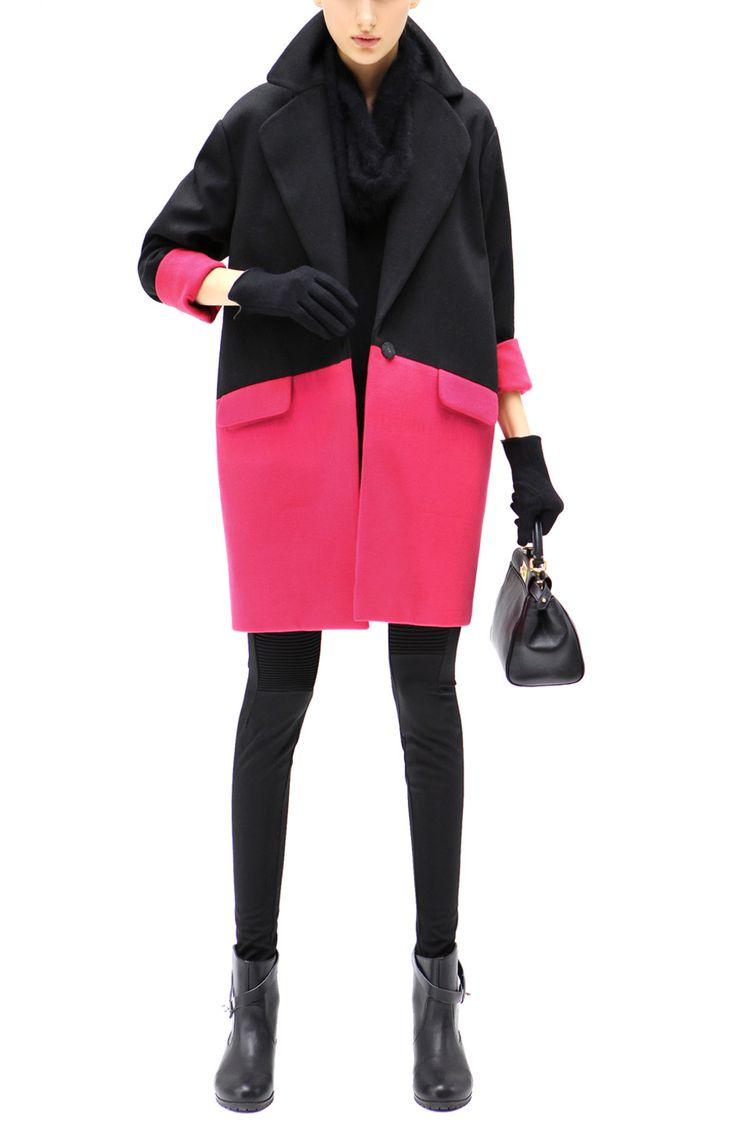 Cocobella - Audrey Coat in Rose