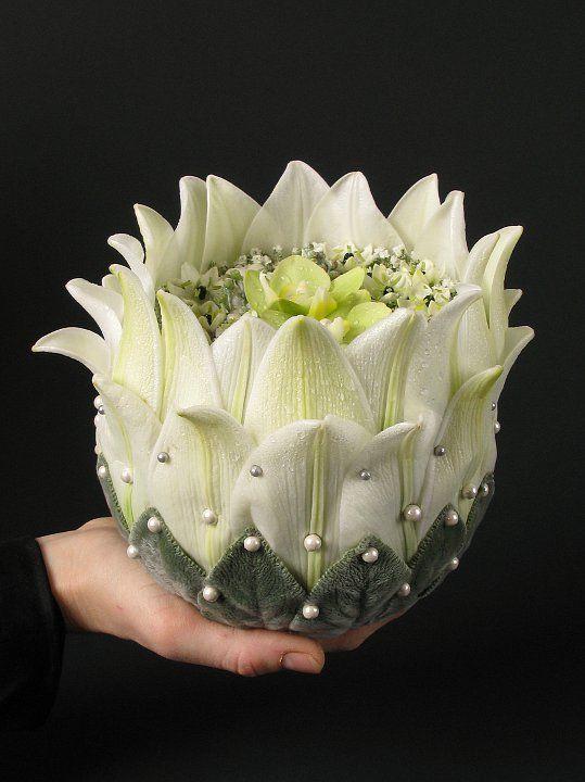 inspired design, Blomsterdesigner Annette von Einem, - pinning,layering