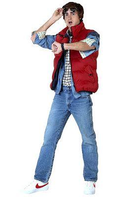 Michael J Fox Marty McFly Fancy Dress Costume