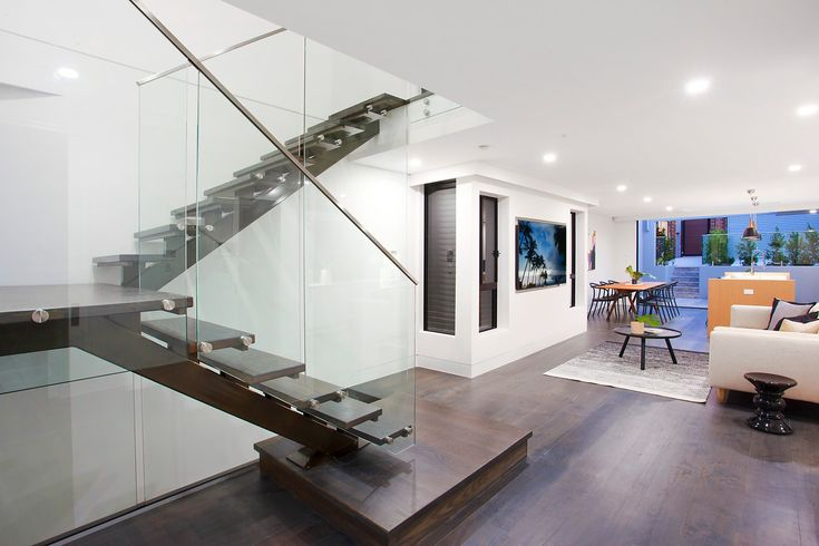 Luxury residence, modern stylish, two level, easy flowing, styled, glass, timber, dark floors, Pilcher Residential
