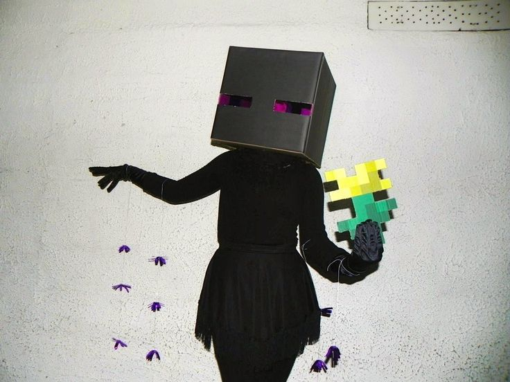 1000 Images About Minecraft Enderman Costume On Pinterest