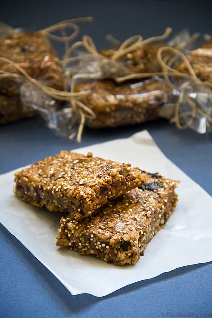 Quinoa & Ginger Granola Bars – Μπάρες Δημητριακών με Κινόα και Τζίντζερ: