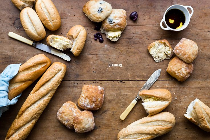 Delicious Parbaked Breads by Deeghuys
