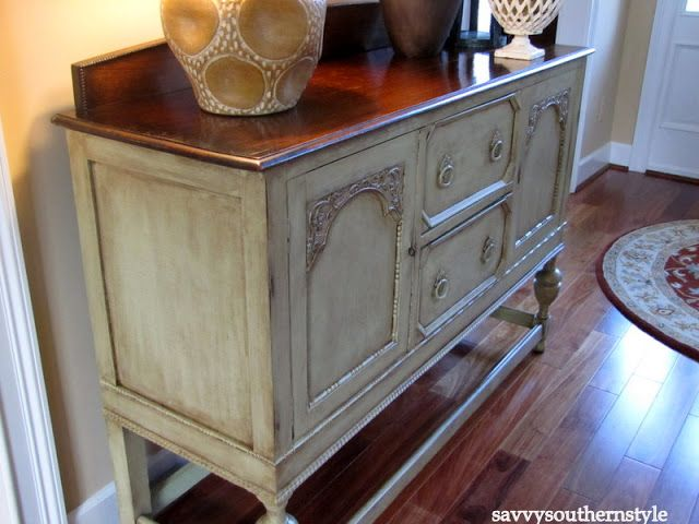 Aged To Perfection Home Decor Distressed Furniture Painting Painted Semi Gloss Paint