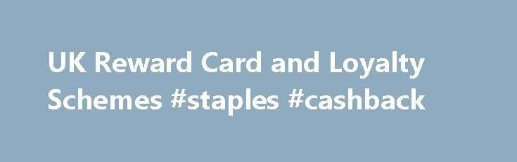 "UK Reward Card and Loyalty Schemes #staples #cashback http://sierra-leone.nef2.com/uk-reward-card-and-loyalty-schemes-staples-cashback/  # UK Reward Card and Loyalty Schemes Launched: 16th Sept 2002 Earn: Sainsbury's (2pts per 1), BP (1pt per litre), Nectar Credit Card. London Energy, Threshers, and others. Also earn while you walk with Fitbug Redeem: 500pts= 2.50 at rel=""nofollow"" and Argos. Can also be redeemed at TGI, McDonalds, Odeon, Blockbuster, DFDS, Euro Tunnel, BMI and Virgin…"