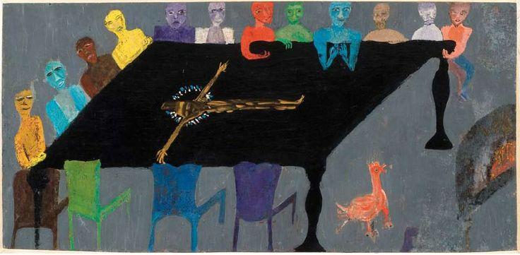 La Cena - obra de Violeta Parra