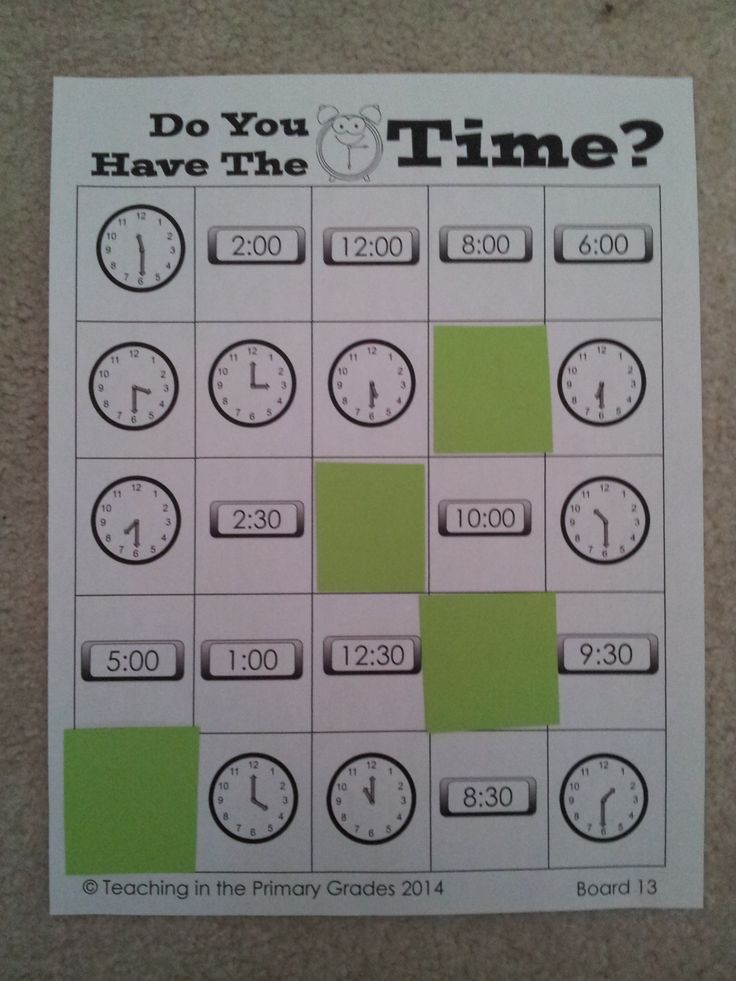 Common Core Aligned telling time bingo. Telling Time to the hour and half hour. #tellingtime #commoncore $