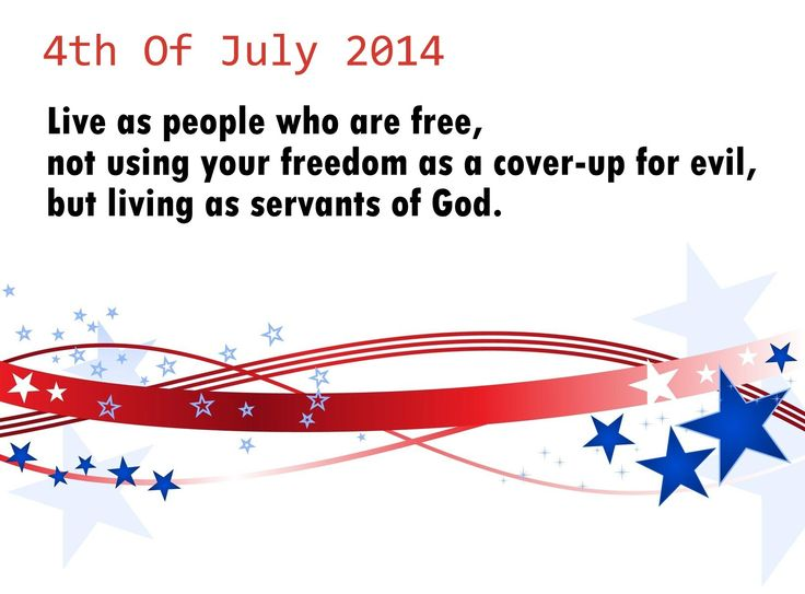 4th of july card verses