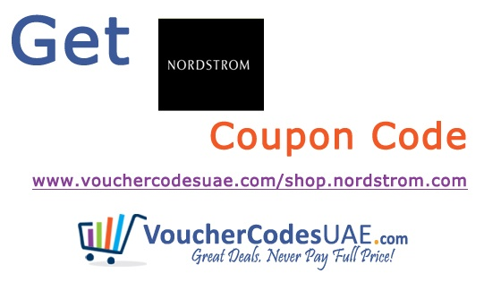 http://www.vouchercodesuae.com/shop.nordstrom.com Save money with the latest free Nordstrom coupon code,voucher code,discount code,promo code,promotional code,offers & deals.