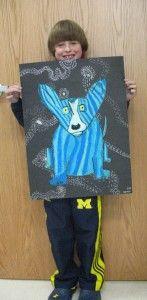 Third Grade Rodrigue Blue Dogs