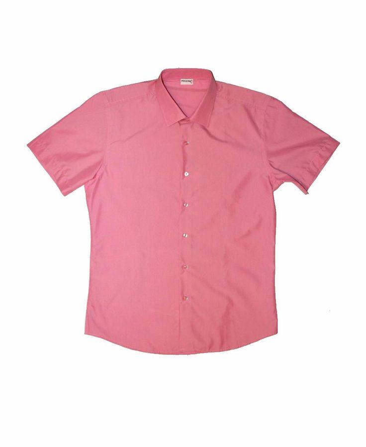 Рубашка кораллового цвета