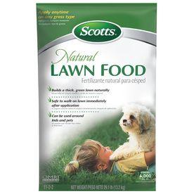 Scotts 4000 sq ft Organic/Natural Lawn Fertilizer