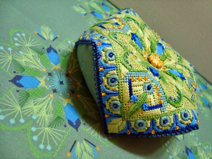It's not your Grandmother's Needlepoint: Biscornu and More