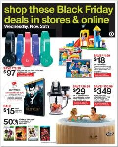 """Target: Early Black Friday Deals Start NOW - Save on Beats by Dr Dre, Visio 39"""" TV, iPad Air, iPad Mini, Fitbit, Star Wars Lego + More!"""