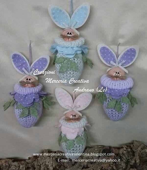 Ecco il coniglio tricot..... Pronti I kit per realizzarli.....