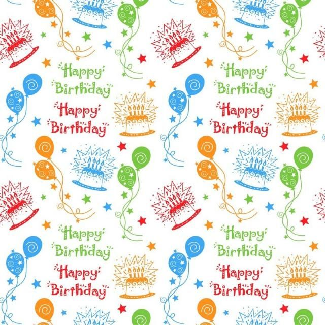 Happy Birthday Pattern Background Background Pattern Party Png