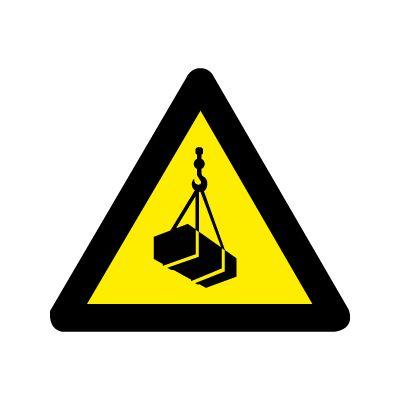 Kran i arbejde - Køb Advarselsskilte her