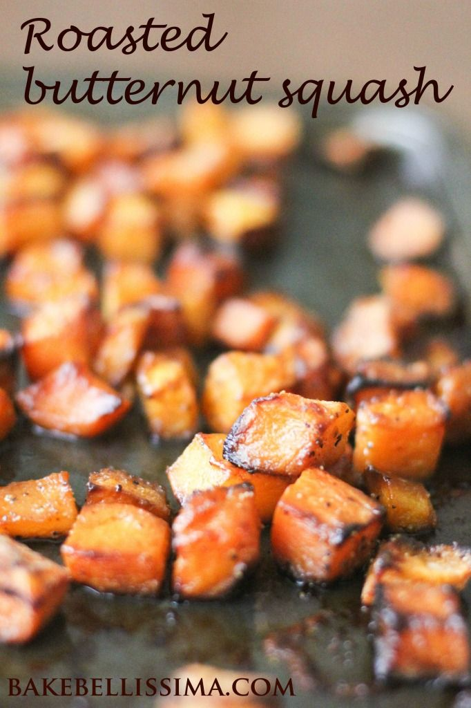 Roasted butternut squash is a delicious side dish, prepared with maple syrup, hot sauce, and Worcestershire. Perfect for fall and Thanksgiving!