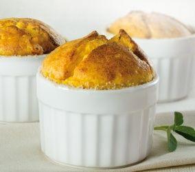 Soufflé di zucca e formaggio