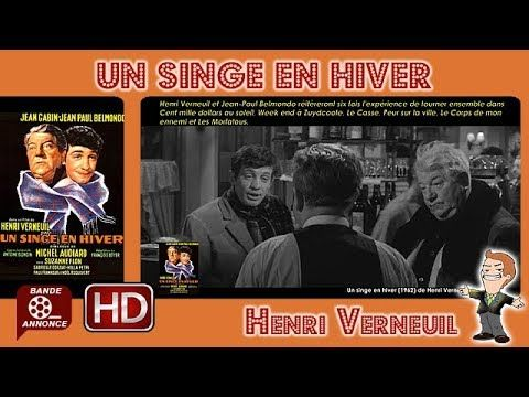 Un singe en hiver de Henri Verneuil (1962) #MrCinema 227