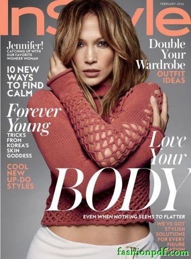 Jennifer Lopez - InStyle USA February 2016