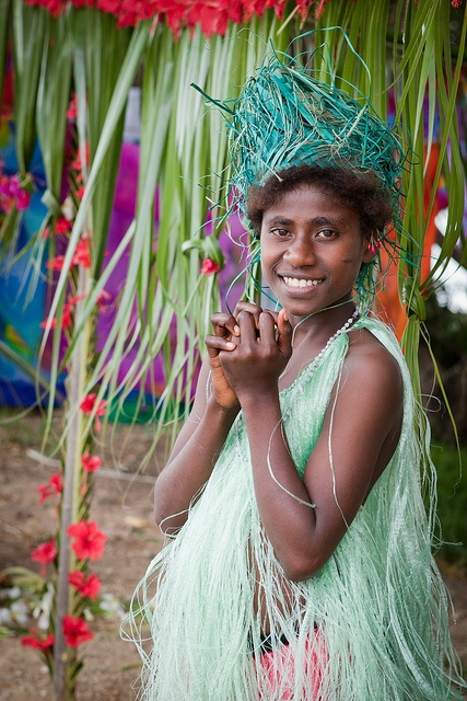 Local girl in Luganville,  Santo Island, Vanuatu, South Pacific | South Pacific Stock Photography for license, instant download or high quality print. by Chris Ridley, via Flickr