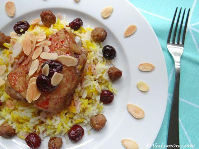 albalou polo (riz aux griottes)