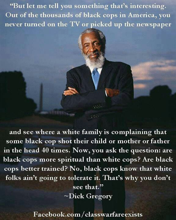 Racism and Police Violence - Dick Gregory