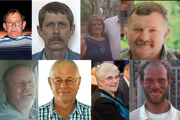 Average of one farm murder every 130 hours for the past few years