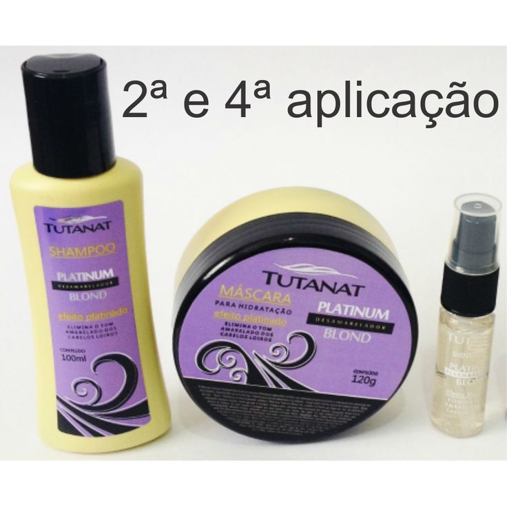 Kit Tutanat Platinum Blond 265ml