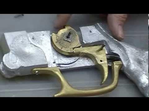 Gatilho Arpão de Madeira - Spearfishing trigger mechanism - YouTube