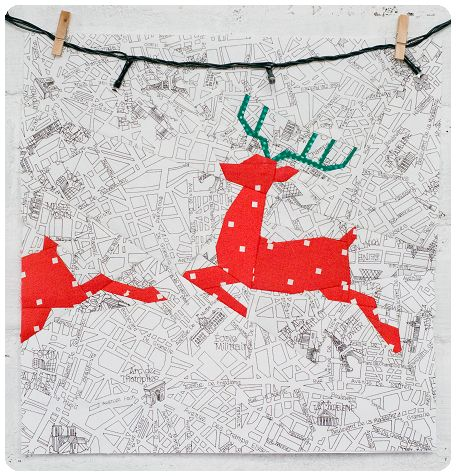 Reindeer block pattern   Projektownia Jednoiglec