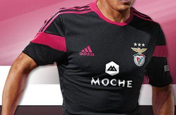 SL Benfica 2014/15 adidas Away Kit