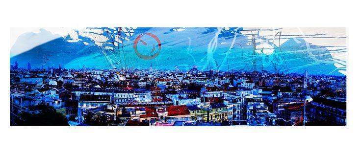 My Milan skyline 2013 in blue..;)