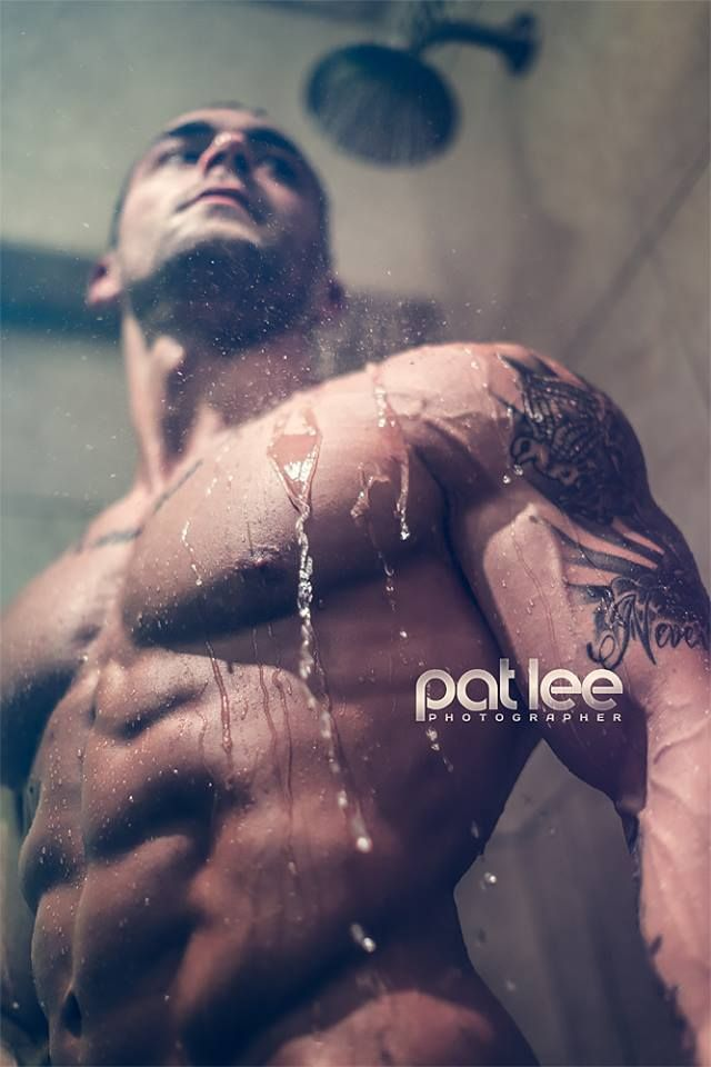Bradley McGury © PAT LEE patlee.net # pecs six pack abs bare chest hunk hot guy nice arms musculoso shirtless eye candy adonis torso bodybuilder