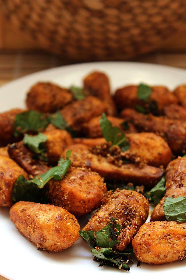 Sukhi arbi or dry arbi – How to make sukhi arbi for fasting #northindiancuisine #indianfoods #indianrecipes http://zaikaofkensington.com/