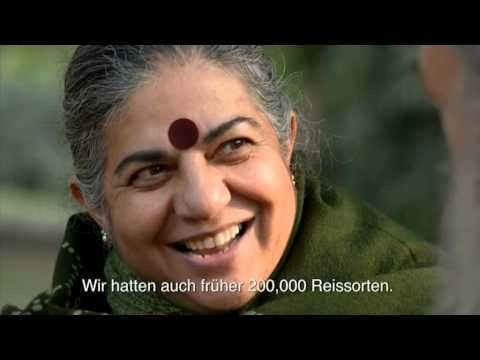 Wolf-Dieter Storl: Interview - Dr. Vandana Shiva (german sub) - YouTube