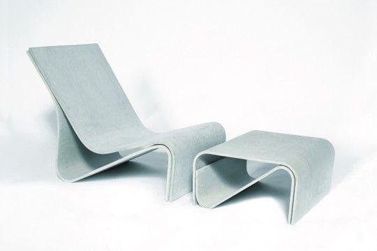 Sponeck, Tisch (Hersteller: Eternit-Werke)  Material: Eternit