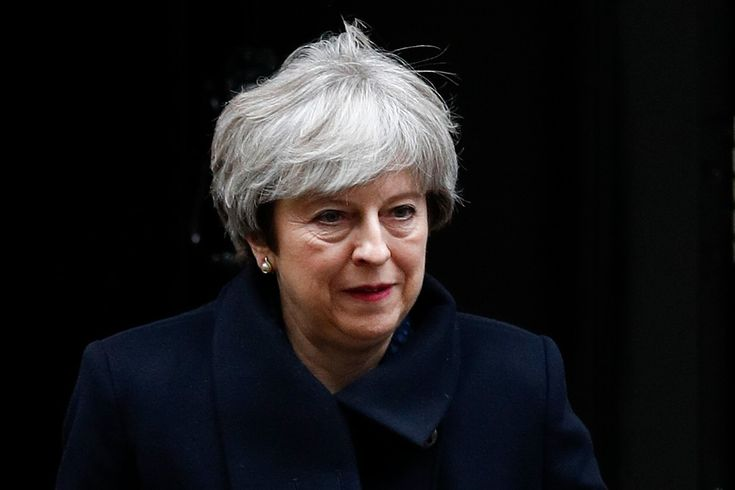 "Theresa May Photos - Britain's Prime Minister Theresa May leaves 10 Downing Street in central London on December 11, 2017..British Prime Minister Theresa May will tell lawmakers Monday there is a ""new sense of optimism"" around Brexit talks, despite a spat with Ireland over last week's interim deal with the EU. Before her statement in the House of Commons, May chaired a meeting of her cabinet ministers, many of whom are divided on the shape of Britain's exit from the European Union.. / AFP…"