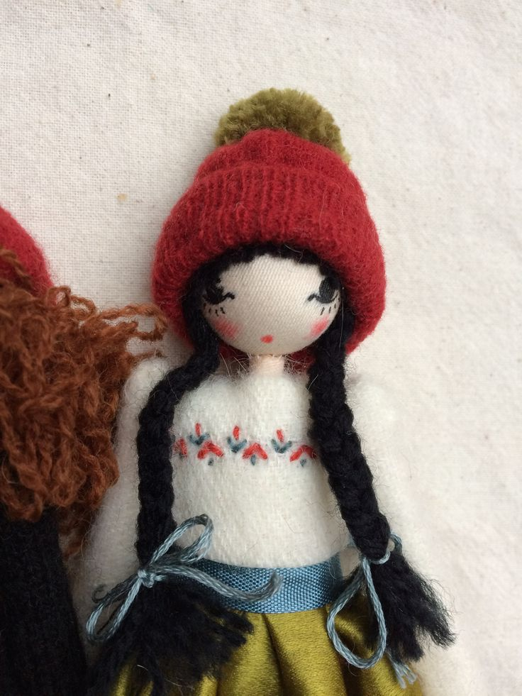 Christmas doll by Sarah Strachan