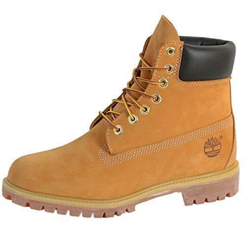 Timberland 6 inch Premium Boot, Bottes Classiques Femme: Tweet Tige en cuir imperméable haut de gamme pour protéger les pieds et les garder…