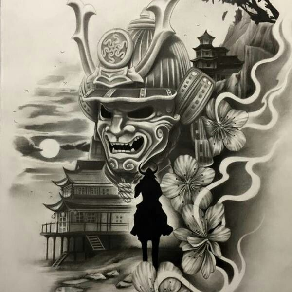 13 best samurai maschere images on pinterest japanese tattoos samurai tattoo and tattoo designs. Black Bedroom Furniture Sets. Home Design Ideas