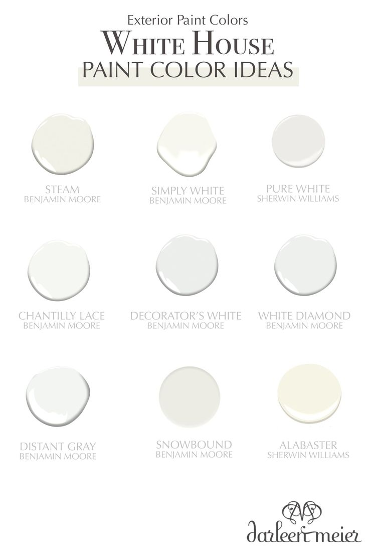 The Best White Exterior Paint Colors To Paint Your House
