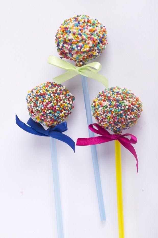 Cake Pops: bolinho no palito                                                                                                                                                     Mais