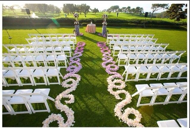 DIY Floral Aisle Runner Question | Weddingbee Photo Gallery